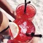 Cocktails à la plage