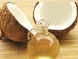 Solaire à base d'huile de coco