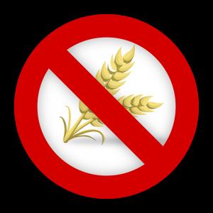 blé et régime sans gluten en tant que symble d'interdiction