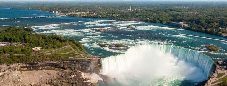 Visite des chutes du Niagara depuis New York